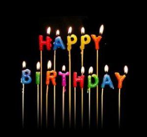 Happy Birthday AED